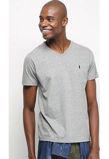 Camiseta Coca-Cola Gola V Masculina - Masculino