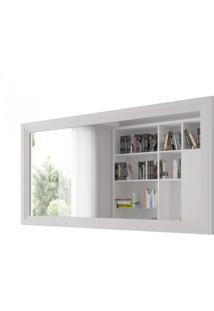 Espelho Retangular 65Cmx120Cm 65Cm X 120Cm Móveis Lanza Branco