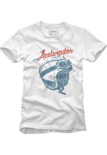 Camiseta Reserva Capacete Masculina - Masculino-Branco