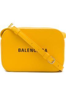 Balenciaga Bolsa Transversal Everyday Xs - Amarelo