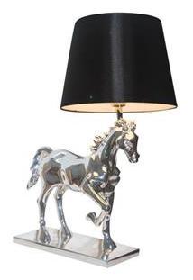 Abajur Urban Nice Horse – Prata