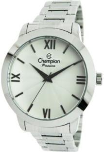Relógio Feminino Champion Cn28704Q - Unissex-Prata