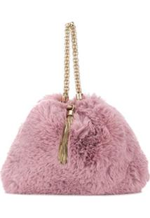 Jimmy Choo Clutch Callie - Rosa
