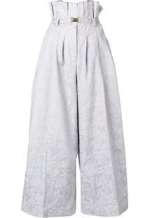Atu Body Couture Calça Pantacourt - Azul