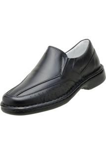 Sapato Social Asa Conforto Preta