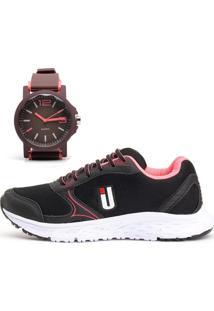 Kit Tênis Ousy Shoes Revolute Training + Relógio Preto - Kanui