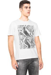 Camiseta Reserva Python Off-White