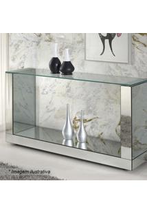 Aparador Brilhance Liso- Incolor & Espelhado- 80X120Rg Móveis