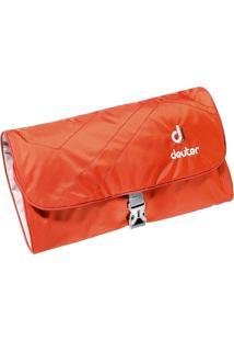Necessaire Wash Bag Ii Laranja Para Viagem Com Espelho Removível - Deuter 707020