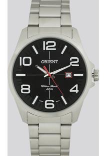 Relógio Analógico Orient Masculino - Mbss1289 P2Sx Prateado - Único