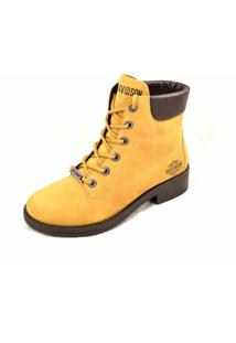 Bota Harley-Davidson Footwear Luza Amarela