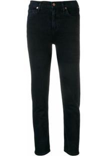 Citizens Of Humanity Calça Jeans Skinny Harlow Cintura Alta - Azul