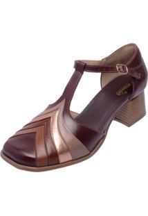 Sapato Miuzzi Retrô 3159 Chilli - Kanui