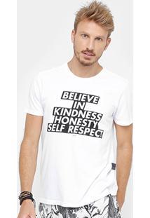 Camiseta Ellus Believe Masculina - Masculino