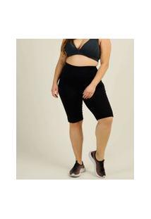 Bermuda Plus Size Feminina Fitness Costa Rica