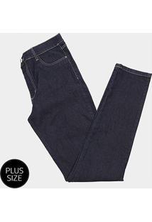 Calça Jeans Skinny Sawary Plus Size Feminina - Feminino
