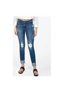 Calça Feminina Jeans Skinny Stone