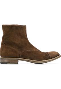 Premiata Classic Ankle Boots - Marrom