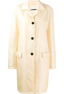 Jil Sander Trench Coat Oversized - Neutro