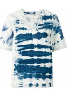 Stella Mccartney Blusa Tie Dye - Azul