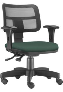 Cadeira Giratã³Ria Executiva Lyam Decor Zip Verde Musgo - Verde - Dafiti