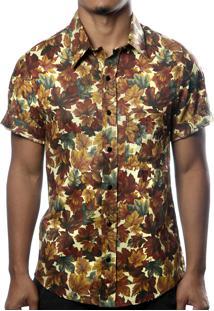 Camisa Camaleão Urbano Outono Marrom