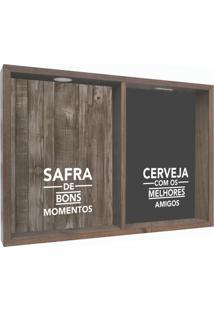 Quadro Porta Rolhas Safira Madeira