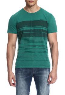 Camiseta Mormaii Estampada - Verde