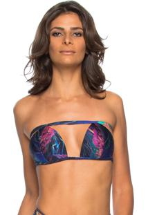 Top Tomara Que Caia Double Side Lua Morena Jellyfish