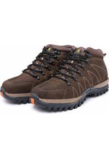 Bota Adventure Em Couro Dr Shoes Marrom