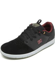 Tênis Couro Dc Shoes Thesis Preto
