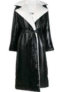 Givenchy Trench Coat Matelassê Dupla Face - Preto