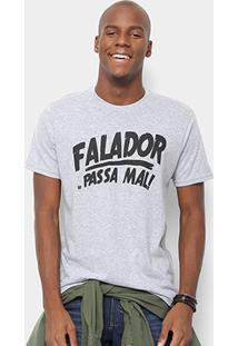 Camiseta Toiss Falador Passa Mal - Masculino