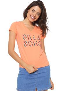 Camiseta Billabong Legacy Laranja