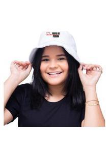 Chapéu Bucket Unissex Personalizado Grey'S Anatomy - Branco