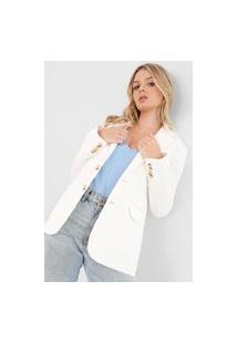 Blazer Polo Ralph Lauren Liso Off-White