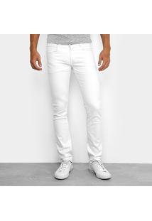 Calça Sarja Skinny Sawary Color Elastano Masculina - Masculino
