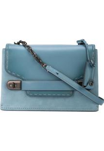 Coach Swagger Chain Crossbody - Azul