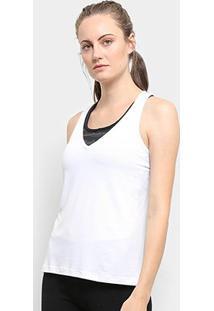 Regata Fila Bio Coat Feminina - Feminino-Branco