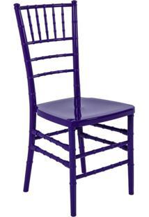 Cadeira De Jantar Tiffany Roxa