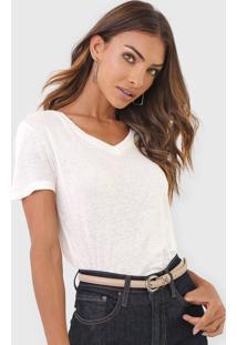 Blusa Calvin Klein Lisa Off-White