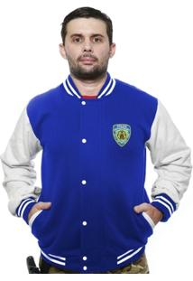 Casaco College Old School Militar Police Nypd - Masculino