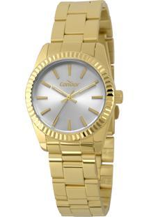 Relógio Condor Feminino Clássico Analógico Dourado Co2035Ezqk4K - Kanui
