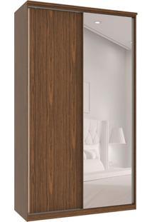 Guarda-Roupa Solteiro Com Espelho Premium Max 2 Pt 3 Gv Dakota