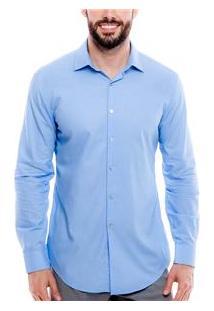 Camisa Masculina 003455 Dkny - Azul Claro