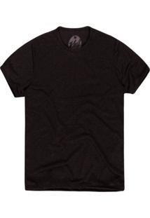 Camiseta Khelf Linho Preto