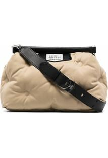 Maison Margiela Large Glam Slam Shoulder Bag - Neutro