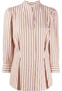 Sandro Paris Striped Blouse - Amarelo