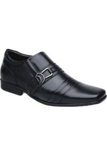 Sapato Social Malbork Em Couro Legítimo Solado Borracha 184 - Masculino