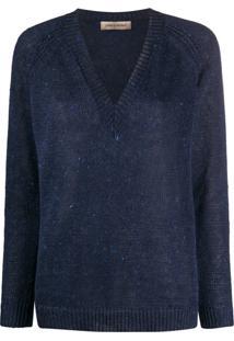 Gentry Portofino Suéter De Tricô - Azul